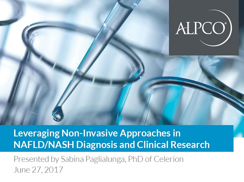 Click on this thumbnail to download the slides from our webinar Leveraging Non-Invasive Approaches in NAFLD/NASH Diagnosis and Clinical Research.