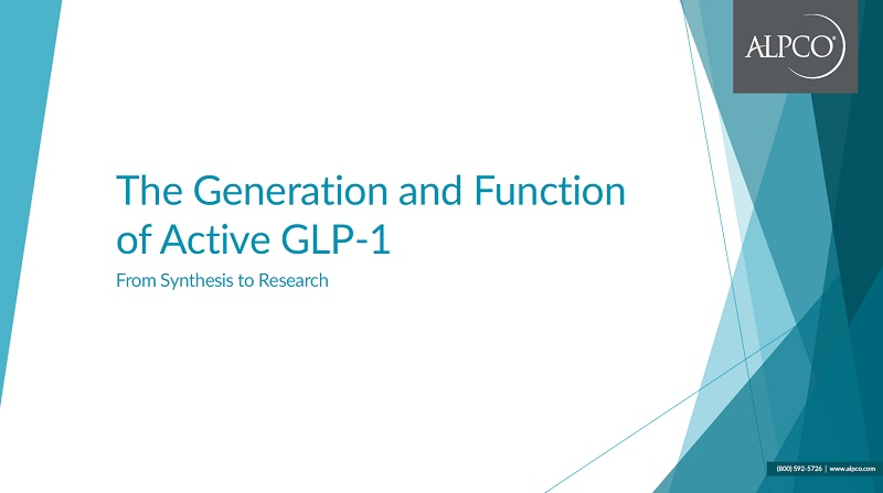 Click this thumbnail preview to download our eBook The Generation and Function of Active GLP-1.