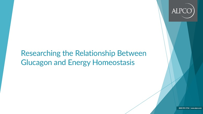 A thumbnail preview of our eBook Researching the Relationship Between Glucagon and Energy Homeostasis